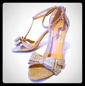 INC International Concepts Shoes - Rhinestone INC Sandal Pumps